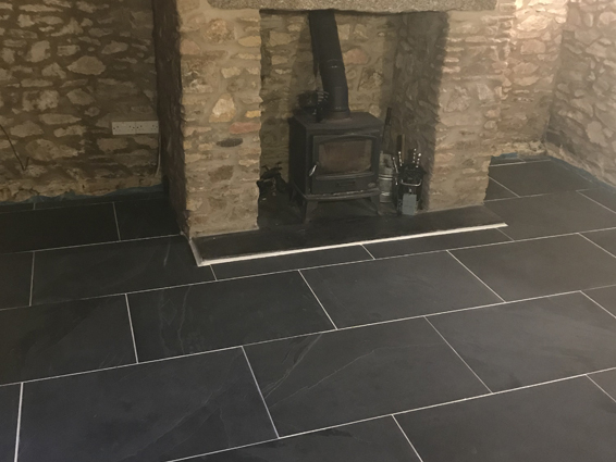 Indoor Slate Flooring
