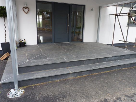 Outdoor Slate Flooring