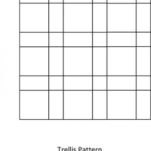 Trellis Tile Pattern for Slate Tile Flooring