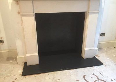 Slate Hearth for open fires